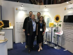 The CareRooms Team at the NHS Expo