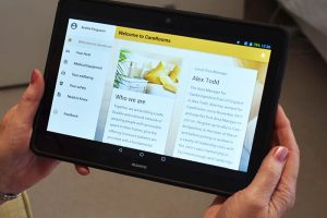 CareRooms Tablet